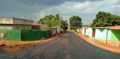 Notícia de Águas Lindas – Jardim Guaíra 2 recebe obras de pavimentação asfáltica