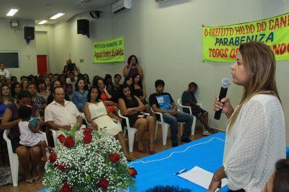 Notícias de Águas Lindas - Aleandra Sousa promove a valorização do idoso e da mulher