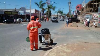 Notícias de Águas Lindas - Prefeito Hildo do Candango mantém o Programa Cidade Limpa em Águas Lindas de Goiás