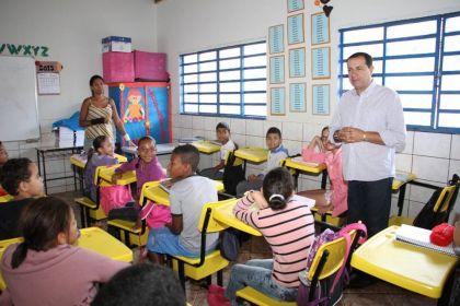 Notícias de Águas Lindas - Educação básica em Águas Lindas de Goiás tem atenção especial