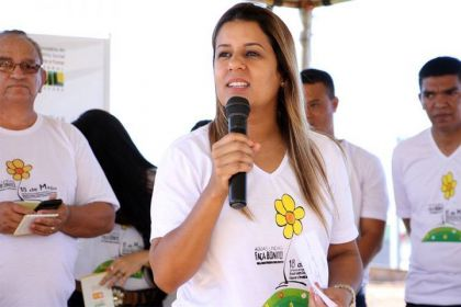 Aleandra Sousa revolucionou o social em Águas Lindas
