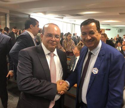 Hildo do Candango e Ibaneis lutam pela criação da Região Metropolitana de Brasília
