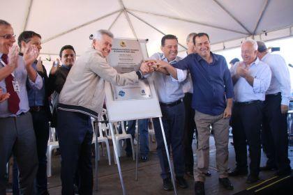 Notícias de Águas Lindas - Prefeito Hildo do Candango é um grande parceiro, diz governador do Distrito Federal