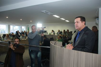 Hildo do Candango participa de abertura dos trabalhos do Poder Legislativo de 2019 em Águas Lindas
