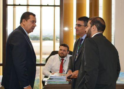 Prefeito de Águas Lindas se reúne com o Deputado Federal Lucas Vergílio para buscar melhorias para a área da saúde na cidade