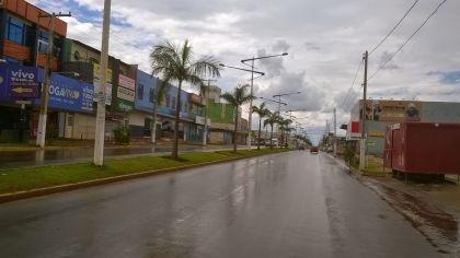 Notícias de Águas Lindas - Equipes da Secretaria de Obras estão no Jardim Brasília