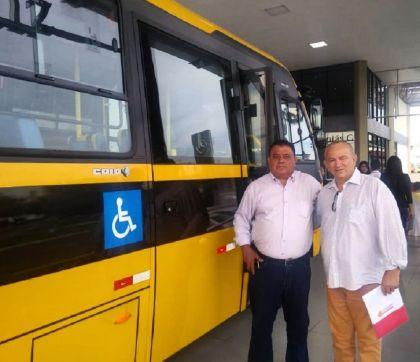 Conforto e segurança: Águas Lindas receberá mais um ônibus escolar para a rede municipal de ensino