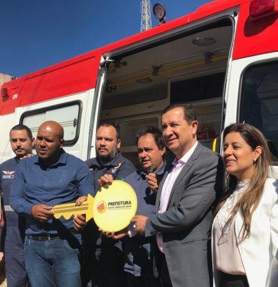Hildo do Candango reforça frota do SAMU em Águas Lindas de Goiás