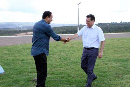Entorno vira pauta especial em reunião entre Hildo do Candango e Marconi Perillo