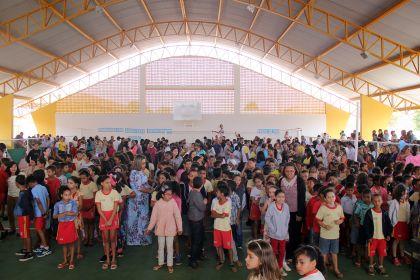 Notícia de Águas Lindas - Educação é uma prioridade em nossa Gestão, diz prefeito Hildo do Candango
