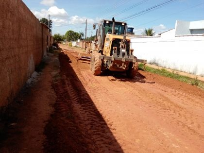Notícia de Águas Lindas – Condomínio Bela Vista recebe obras de terraplanagem