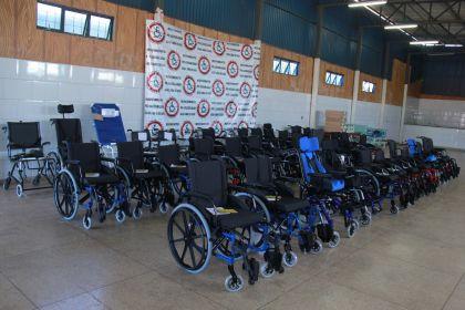 Notícia de Águas Lindas - Cadeiras de rodas serão entregues à população com necessidades especiais