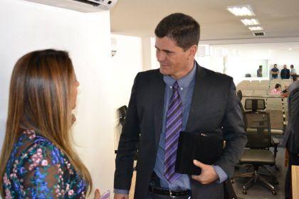 Notícias de Águas Lindas - Hildo do Candango luta pela melhoria da segurança pública, diz delegado Fernando Gama