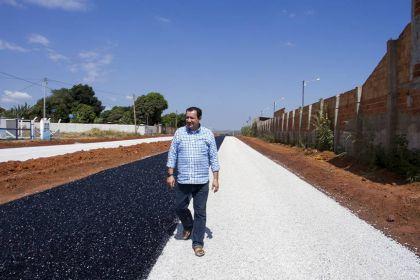 Gestão Hildo do Candango realiza obras relevantes em Águas Lindas de Goiás