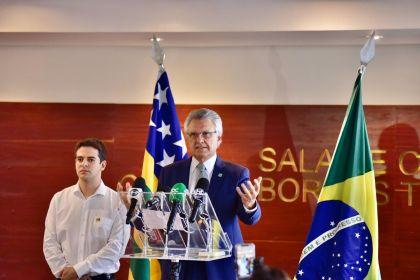 Notícia de Goiás – Governador Caiado assume a responsabilidade por Goiás e afirma que o Estado não haverá mudança quanto aos decretos
