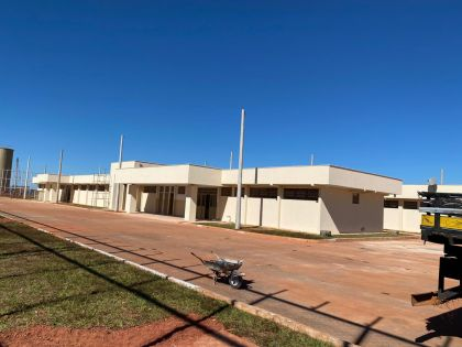 Notícia de Águas Lindas – Obras do presídio de Águas Lindas estão em fase final