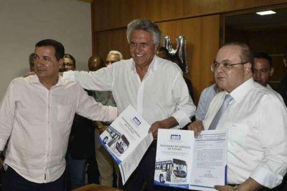 Notícia de Águas Lindas – Hildo do Candango busca melhorias para o transporte público de Águas Lindas e Entorno