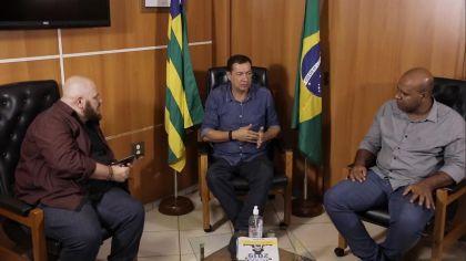 Notícia de Águas Lindas – Prefeito Hildo do Candango faz transmissão ao vivo e esclarece dúvidas da população sobre o coronavírus em Águas Lindas