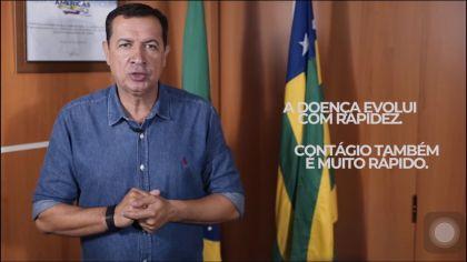 Notícia de Águas Lindas – Prefeito Hildo do Candango orienta população a ficar em casa para evitar a proliferação do coronavírus