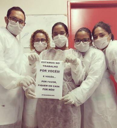 Notícia de Águas Lindas – Prefeito Hildo do Candango elogia o trabalho dos profissionais da saúde