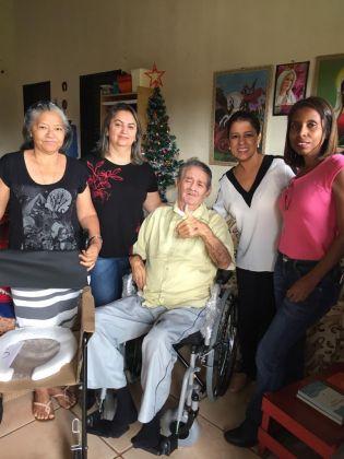 Notícia de Águas Lindas – CRAS de Águas Lindas realiza entrega de cadeiras de rodas para moradores atendidos pelo PAIF