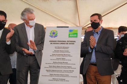 Notícia de Águas Lindas - Presídio de Águas Lindas é inaugurado